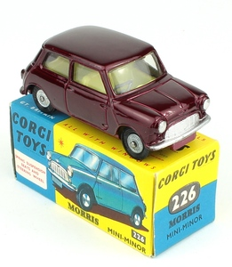 Corgi toys 226 morris mini minor yy801