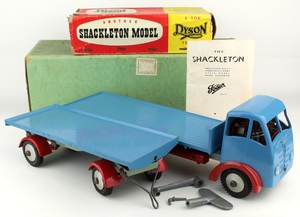 Shackleton foden platform lorry trailer yy832