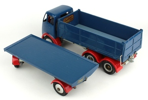 Shackleton foden tipper trailer yy8331