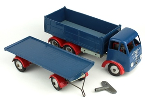 Shackleton foden tipper trailer yy833