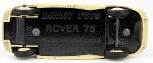 Dinky toys 156 rover 75 saloon yy9272