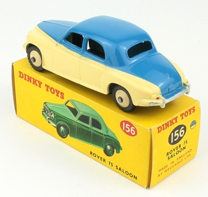 Dinky toys 156 rover 75 saloon yy9271