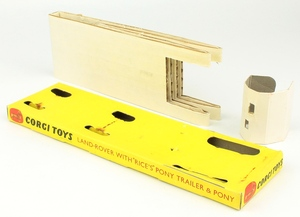 Corgi toys gift set 2 landrover pony trailer yy9413