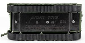 Dinky toys 651 centurion tank zz72