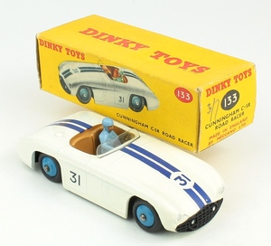 Dinky toys 133 cunningham road racer zz20