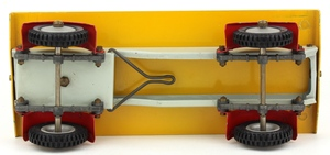 Shackleton foden model trailer yellow zz345