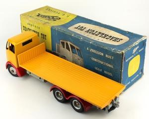 Shackleton foden model trailer yellow zz34