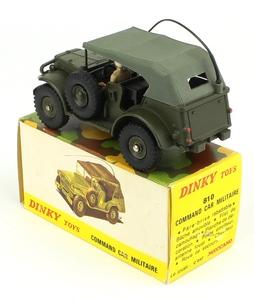 Dinky toys 810 military command car zz451