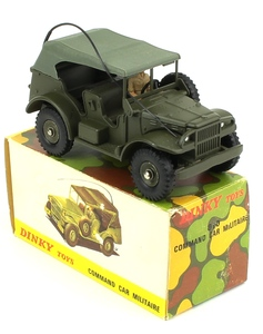 French dinky toys 810 military command car zz45