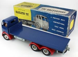 Shackleton toy foden flat truck zz701