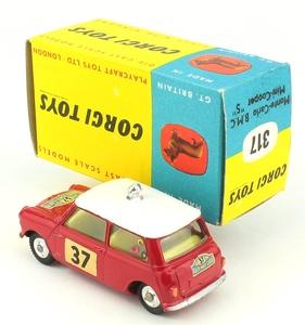 Corgi toys 317 monte carlo mini cooper s zz1051
