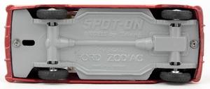 Spot on models 100 ford zodiac zz1752