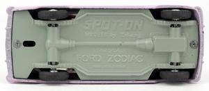 Spot on models 100 ford zodiac zz1762