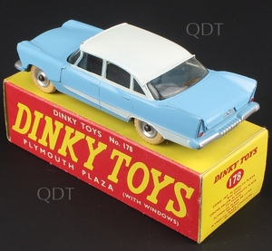 Dinky toys 178 plymouth plaza zz3811