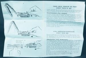 French dinky toys 883 char amx bridge layer zz4835