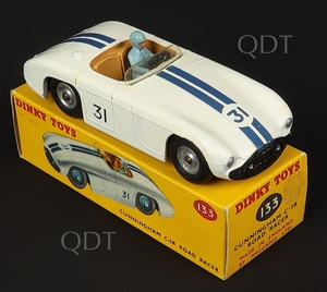 Dinky toys 133 cunningham road racer zz661