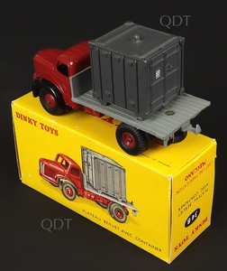 French dinky toys 34b berliet container truck zz6661
