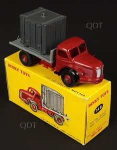 French dinky toys 34b berliet container truck zz666