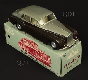 Solido models 115 rolls royce silver cloud zz668