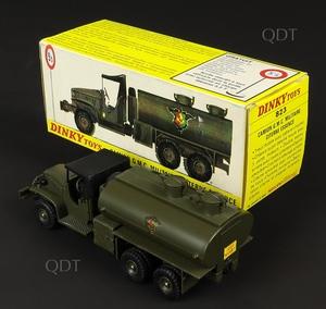French dinky toys 823 gmc tanker zz7101