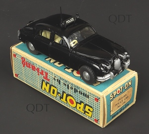 Spot on models 256 jaguar police car zz745