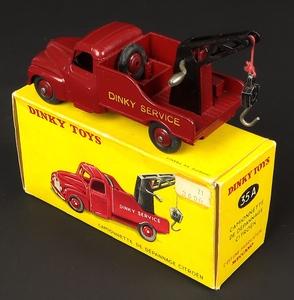 French dinky toys 35a citroen breakdown service truck zz7631