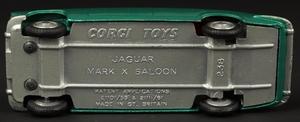 Corgi toys 238 jaguar mark x zz7672