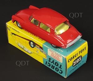 Corgi toys 210s citroen ds19 zz7711
